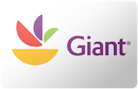 Giant Foods gift card