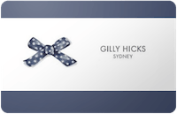 Gilly Hicks Sydney gift card