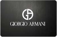 Giorgio Armani gift card