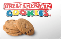 Great American Cookies gift card