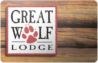 Great Wolf Lodge gift card
