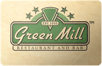 Green Mill gift card