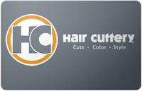 Hair cuttery gift card