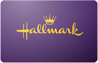Hallmark Gold Crown gift card