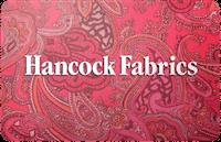 Hancock Fabrics gift card