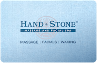 Hand and Stone gift card
