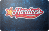 Hardees gift card