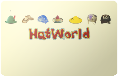 Hat World gift card