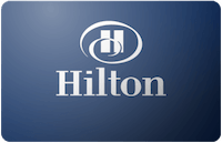 Hilton Hotels gift card
