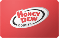 Honey Dew Donuts gift card
