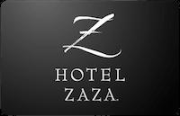 Hotel Zaza gift card