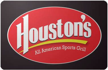 Houston's Restaurant gift card