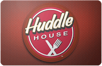 Huddle House gift card