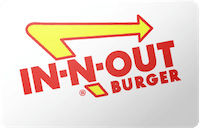 In-N-Out Burger gift card