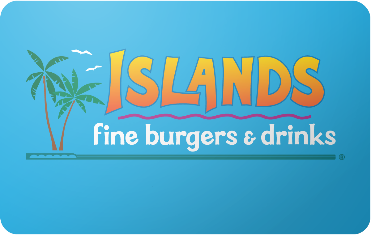 Islands Restaurant gift card