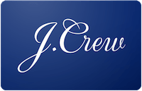 J. Crew gift card