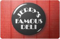 Jerrys Famous Deli gift card