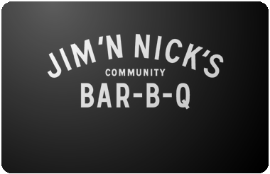 Jim 'N Nick's gift card