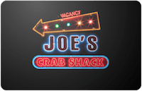 Joes Crab Shack gift card