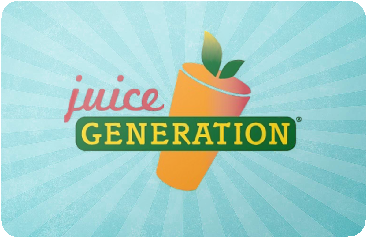 Juice Generation  gift card