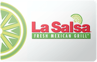 La Salsa Fresh Mexican Grill gift card