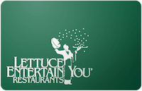 Lettuce Entertain You gift card