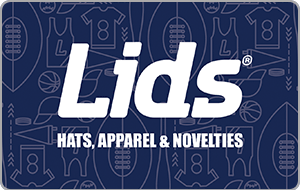 Lids gift card