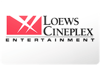 Loews Cineplex gift card