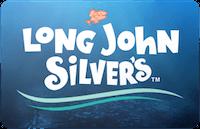 Long John Silver's gift card