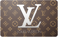 Louis Vuitton gift card
