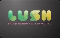 Lush Cosmetics gift card