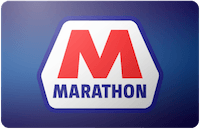 Marathon gift card