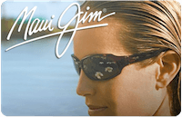 Maui Jim Sunglasses gift card