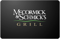 McCormick&Schmicks gift card