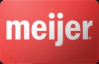 Meijer gift card