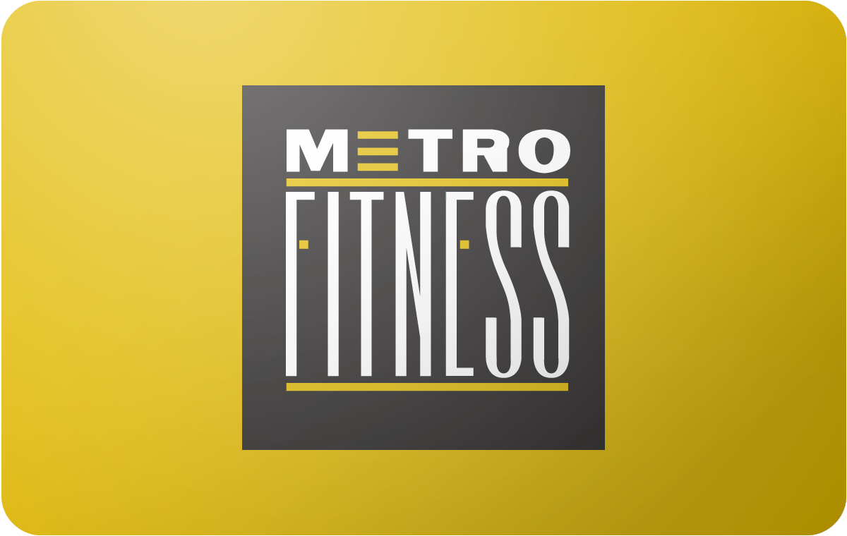 Metro Fitness gift card