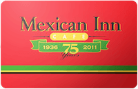 Mexican Inn Cafe gift card