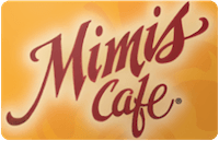 Mimis Cafe gift card
