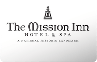 Mission Inn gift card