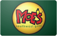 Moe's Southwest Grill gift card