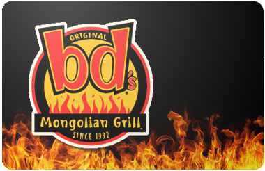 bd's Mongolian Grill gift card
