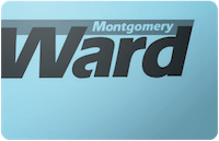 Montgomery Ward gift card