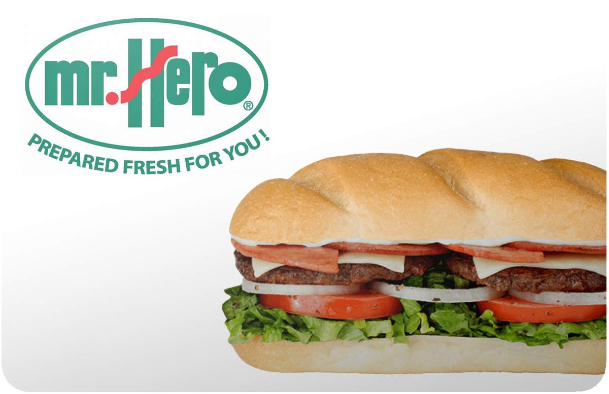 Mr. Hero gift card