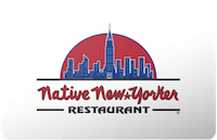Native New Yorker gift card
