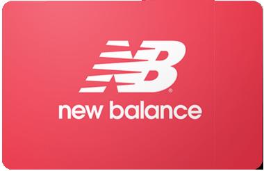 New Balance gift card