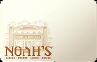 Noahs NY Bagels gift card