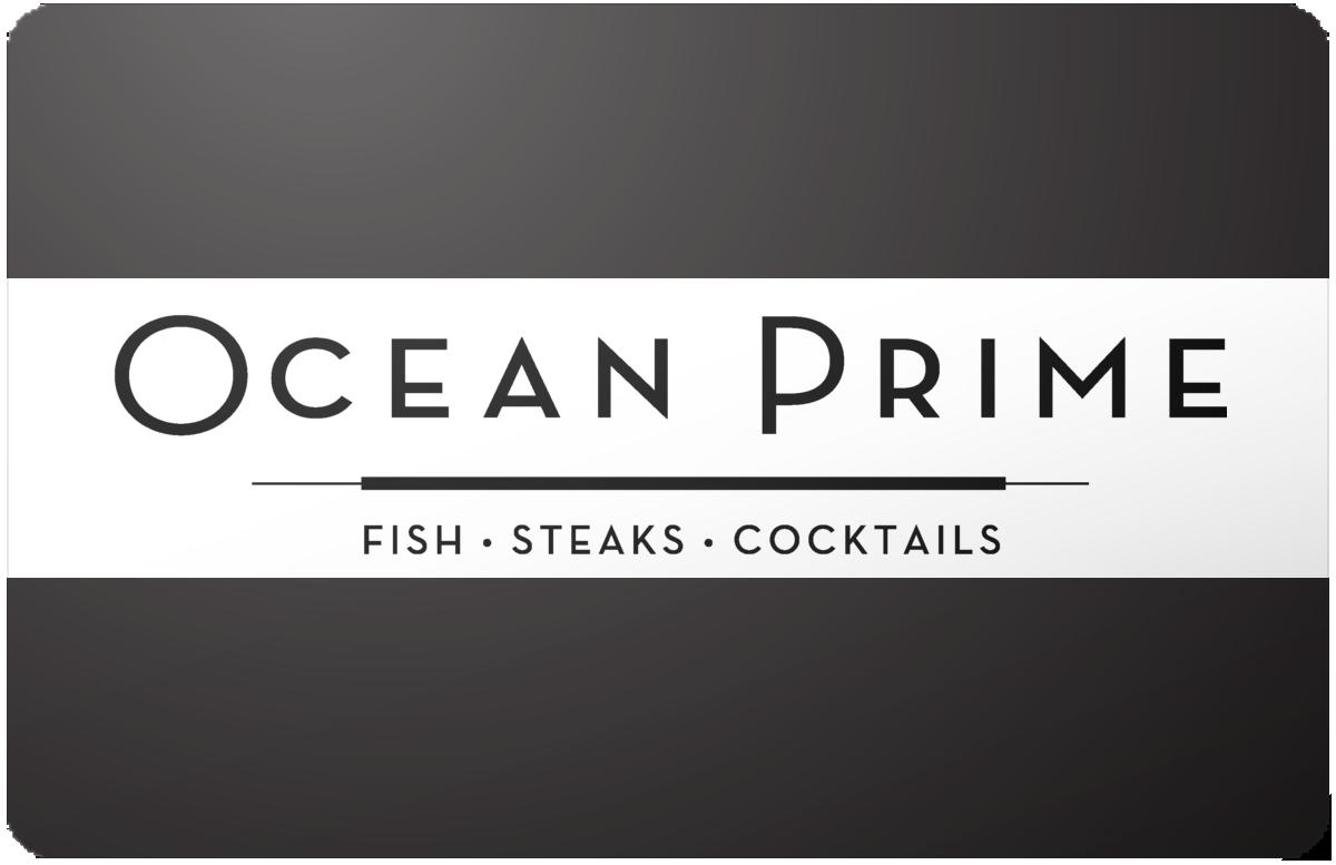 Ocean Prime gift card