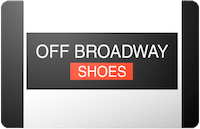 OFF Broadway Shoes gift card