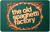 Old Spaghetti Factory gift card