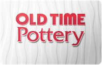 Old Time Pottery  gift card